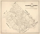 Map of Caldwell County, Texas | Library of Congress