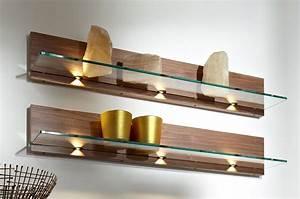 decorative floating glass shelves - Floating Glass Shelves