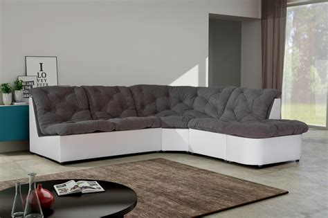 canapé d angle gris pas cher cdiscount canapé d angle noir et blanc