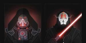Desenhos Ilustram o Lado Negro De Star Wars Não Intendo