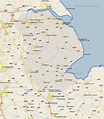 Ingham Map - Street and Road Maps of Lincolnshire England UK
