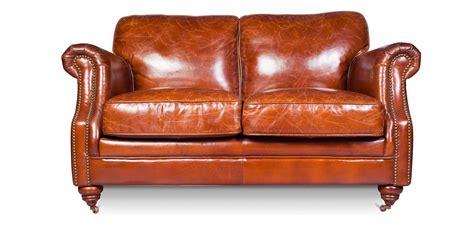Divano Vintage Churchill Lounge -2 Posti- Pelle Premium
