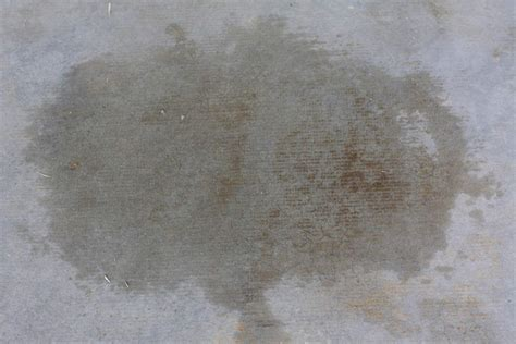 How to remove oil stains from concrete   Garage Flooring