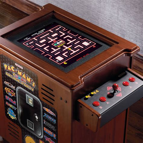 pac man arcade cabinet pac man 39 s arcade party cocktail table the green head