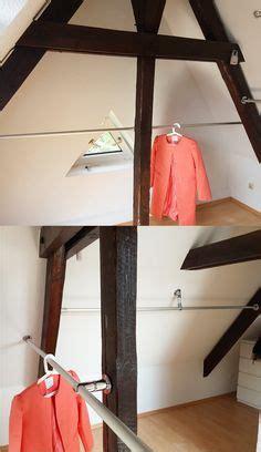 Kleiderstange Dachschräge Befestigen by Kleiderstange An Dachschr 228 Ge Befestigen Ostseesuche