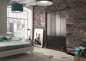 Porte Placard Verriere : porte de placard style atelier yj75 jornalagora ~ Melissatoandfro.com Idées de Décoration