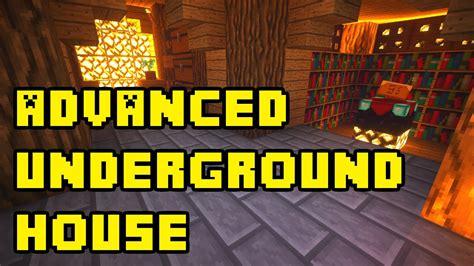 minecraft advanced underground housebase tutorial xboxpcpeps youtube