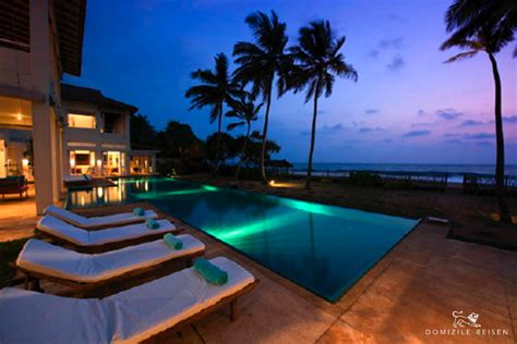 Ferienhaus Sri Lanka by Beachfront Villa Rental Villa With Pool And Service Sri