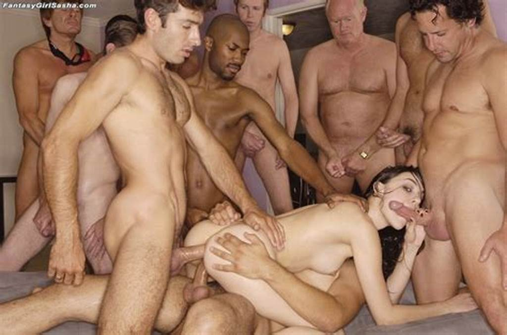 #Kick #Ass #Gang #Bang #For #Sasha #Grey #Having #All #Her #Holes