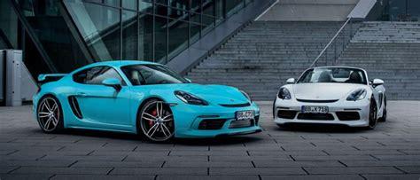 Porsche 718 Modification by Techart Les Porsche 718 Boxster Et Cayman Aux Looks Et