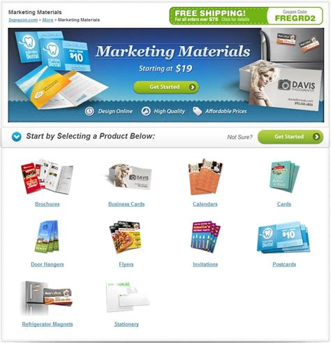 Digital Marketing Materials by New And Reved Product Lines Bring Signazon