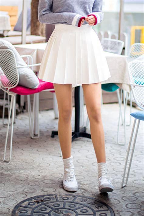 chuu pleated mini skirt kstylick latest korean
