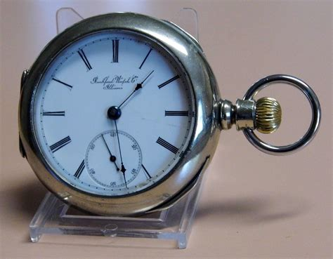 File:Vintage Rockford Watch Company Open Face Pocket Watch ...