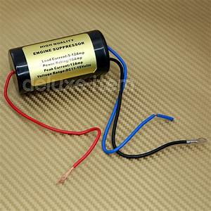 12v Noise Filter Hum Killer Engine Supressor Power Wire In