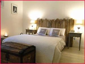Fabriquer Une Tête De Lit : fabriquer tete de lit avec palette decoration de chambre ~ Dode.kayakingforconservation.com Idées de Décoration