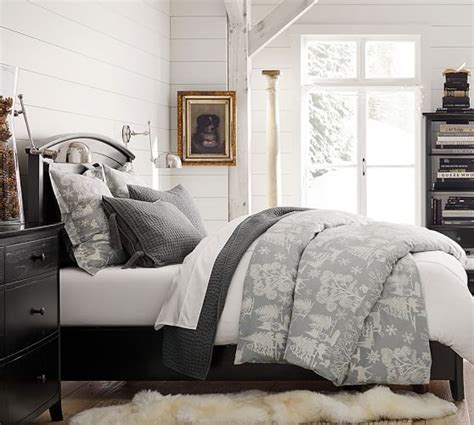 Frosted Forest Duvet Cover & Sham  Pottery Barn