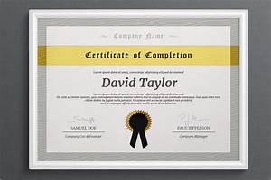 Free Training Completion Certificate Templates 7 Free Certificate Of Completion Templated Excel Pdf Formats