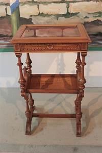 Table En Noyer : table vitrine en noyer xixeme antiquites lecomte ~ Teatrodelosmanantiales.com Idées de Décoration