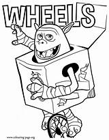 Coloring Boxtrolls Trolls Colouring Troll Printable Wheels Sheets Boxtroll Sheet Beaver Unicycle Scouts Boys Activities Rides Coloringpagesonly Birthday Meet Fish sketch template