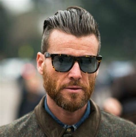 Hairstyles For Round Faces Men