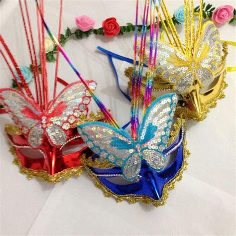 2017 Wholesale Ladies Led Light Up Peacock Masks Mask For