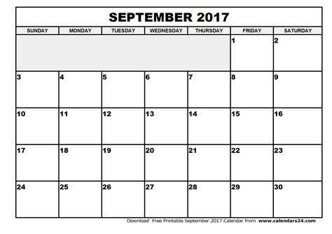 blank html blank september 2017 calendar weekly calendar template