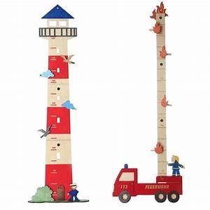 Holz Messlatte Kinder : olli olbot messlatte leuchtturm feuerwehr holz handarbeit ~ Lizthompson.info Haus und Dekorationen
