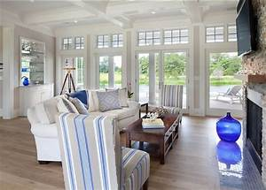 Shingle Beach House with Classic Coastal Interiors - Home