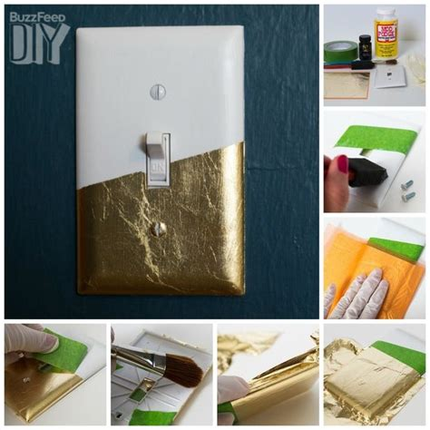 adorable ways  decorate  light switch cover diy