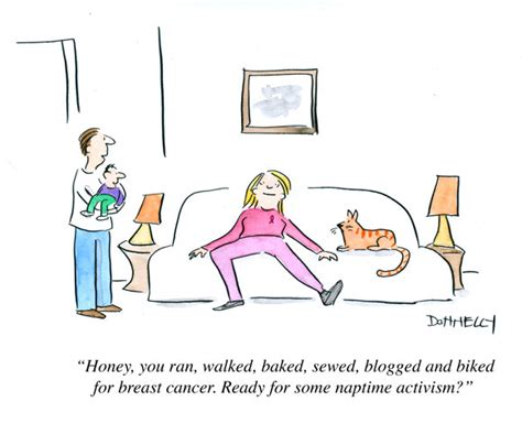Breast Cancer And Naptime Activism