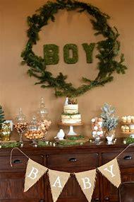 Woodland Theme Baby Shower Decorations