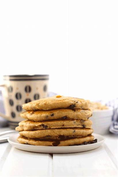 Pancakes Chocolate Oatmeal Pancake Chip Healthy Fluffiest