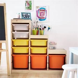 Rangement Ikea Chambre : trofast ikea pinterest rangement chambre cellier et rangement jouet enfant ~ Teatrodelosmanantiales.com Idées de Décoration