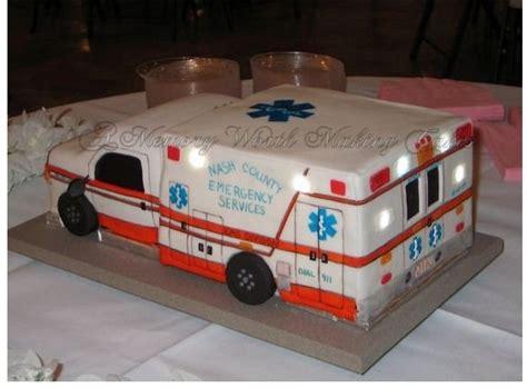 ambulance cake kids birthday cake ideas pinterest