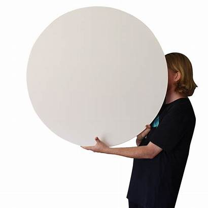 Canvas Round Square Outside Stretched Blank 90cm