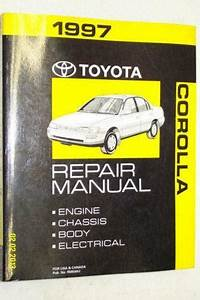 Toyota Corolla Repair Manual