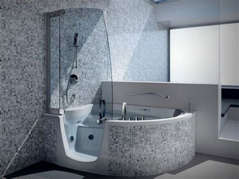 mini bathtub  shower combos  small bathrooms