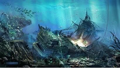 Shipwreck Deviantart Pilia Concepts Claudio Concept Artwork