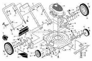 Poulan Pr550n22sh Parts List And Diagram