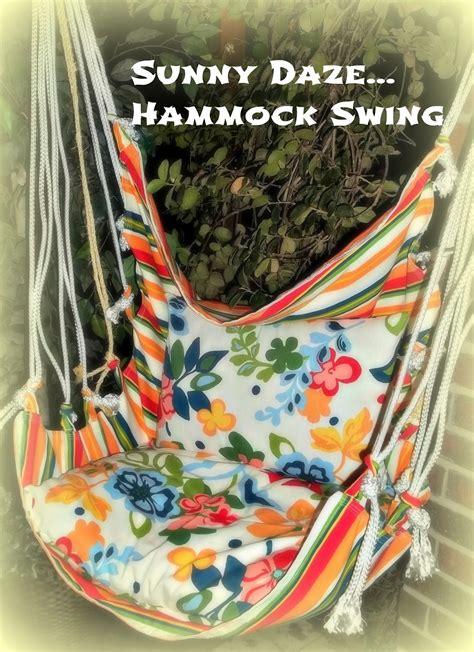 Diy Hammock Swing by Hammock Swing Tutorial Tauni Co