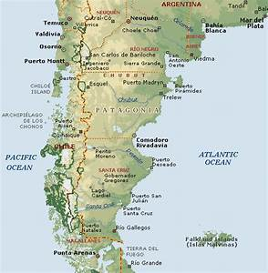 Argentina Map Patagonia Pictures to Pin on Pinterest ...
