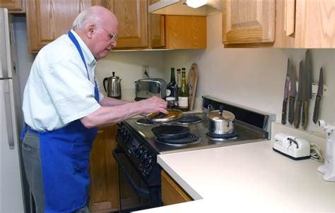 kitchen design for elderly elderly learn to cook for their health health 4432