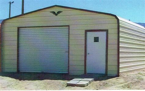 Enclosed Car Ports by 18 X 21 Enclosed Metal Carport Cover Garage Installed