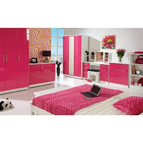 High Gloss Pink Bedroom Furniture Collections Bedroom