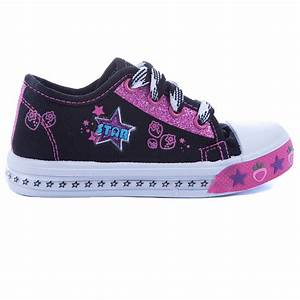 Toddler Tennis Shoes Casual Lace Up Canvas Sneaker Sports ...