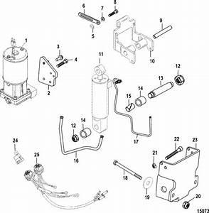 Mercury Marine Trim    Tilt    Lift Systems  U0026 Components