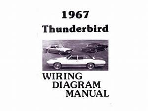 1967 Ford Thunderbird T Bird Electrical Wiring Diagrams