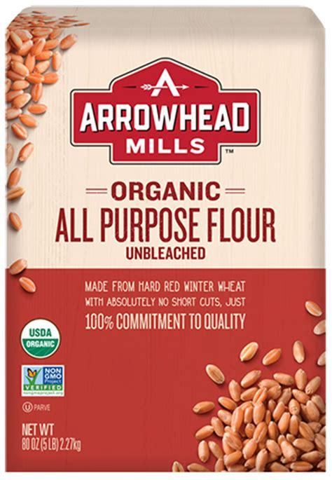 organic  purpose flour arrowhead mills