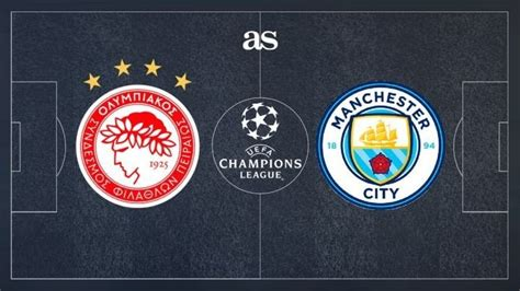 Olympiacos vs Manchester City: How and where to watch ...