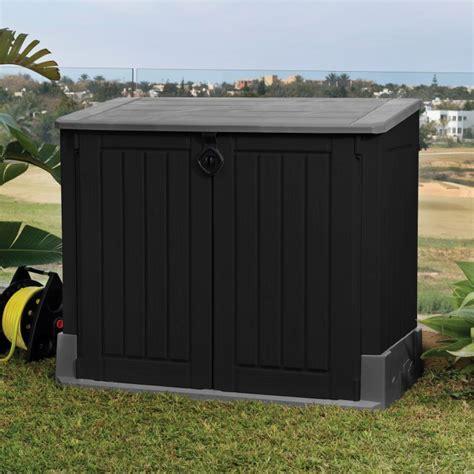 poubelle bureau fille abri rangement de jardin coffre cache poubelle